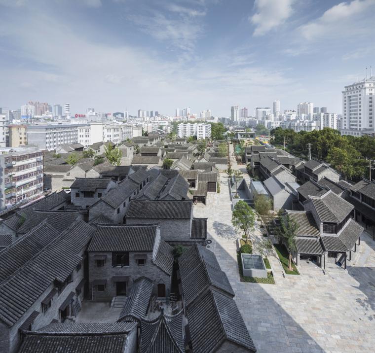 徐州现代语境表现的城墙博物馆外部实景图