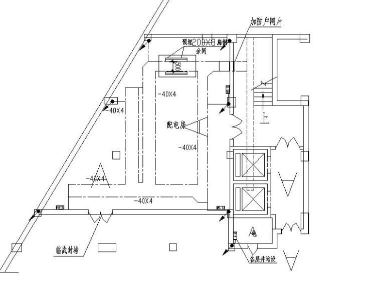 某高层商住楼电气施工图