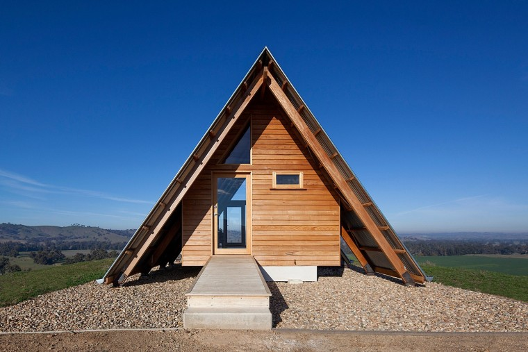 澳大利亚A框架的基摩小屋