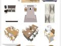 懒人整合包,70套北欧风格混合家具[SU]