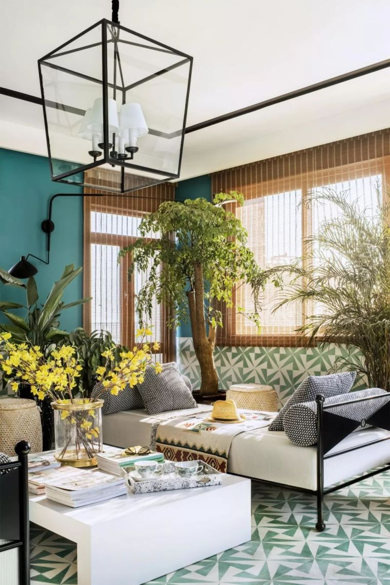 跃层都市公寓融入4种风格后,竟然如此惊艳!_36