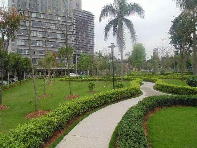 小区园林绿化养护施工设计的原则