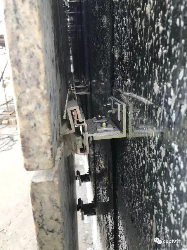 解析|外墙干挂石材幕墙标准化施工流程!_9