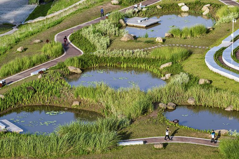 重庆万州长江二桥滨水生态公园-5