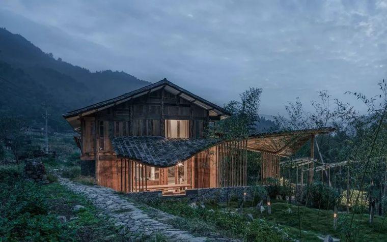 旧材料的经典搭配,传统建筑也能焕发新生机