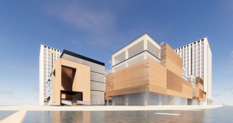 北京大兴·绿地启航国际MAX街区UA国际建筑SU模型