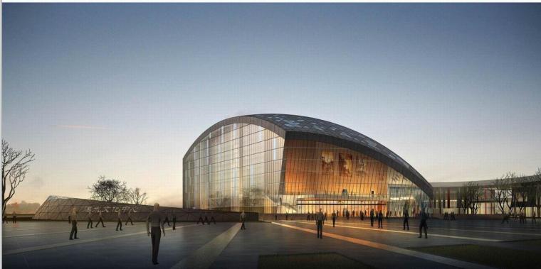 [上海]某文化艺术中心建筑方案设计(文本)