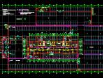 框架结构地下一层车库建筑、结构施工图纸