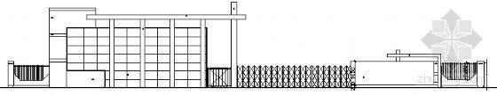 [合集]24套大门建筑施工图(学校、接待中心、公司大门、欧式)_7