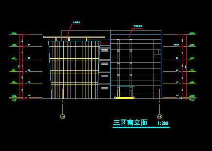 高层圆形平面造型广场归档施工图_3