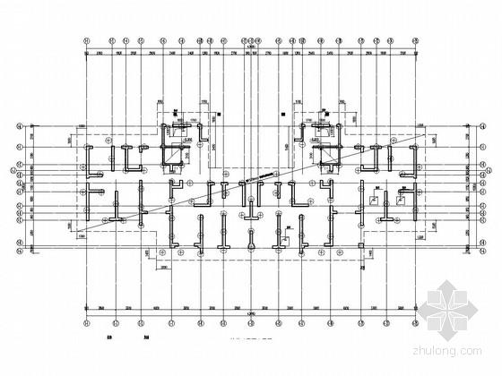 [广东]住宅楼钻孔灌注桩基础设计图(抗压桩 抗拔桩)图片