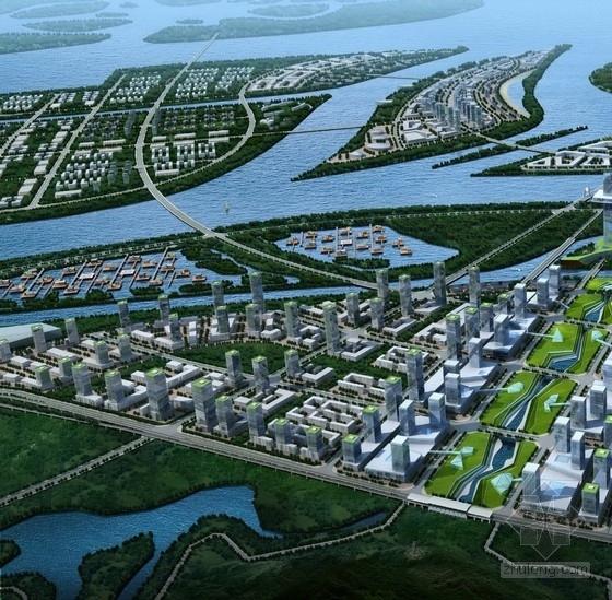 [广东]后工业岭南文化港湾景观规划设计方案(知名设计院)-鸟瞰图