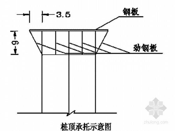 [福建]水中钢栈桥与钻孔桩平台基础钢管桩施工方案