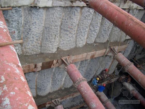 [上海]地铁深基坑围护结构全套管钻孔咬合桩施工工艺