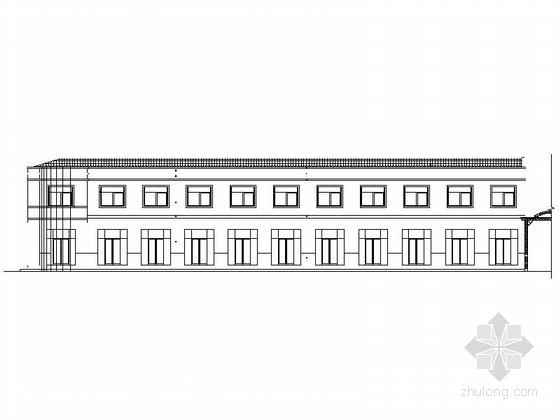[毕业设计]两层私人商住楼设计施工图
