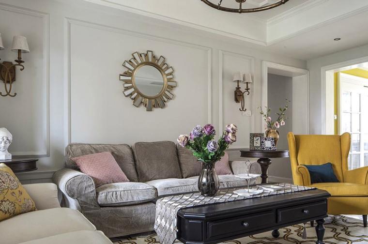 大户型150平米,美式风格四室两厅装修住着真舒适!