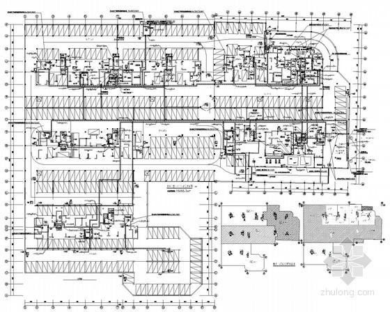 [云南]住宅楼地下室项目强电施工图(2015最新设计)