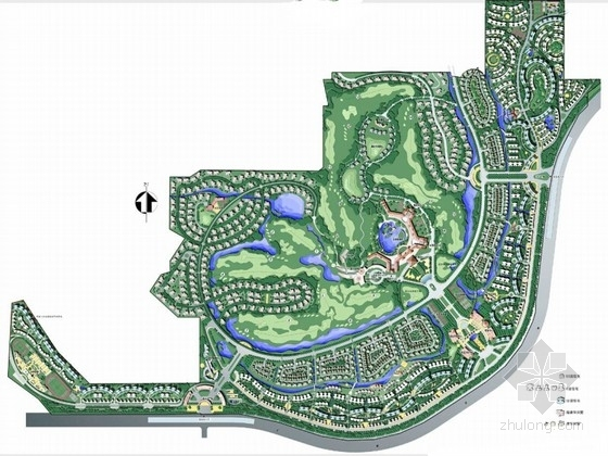 [广州]自然生态居住区景观方案规划