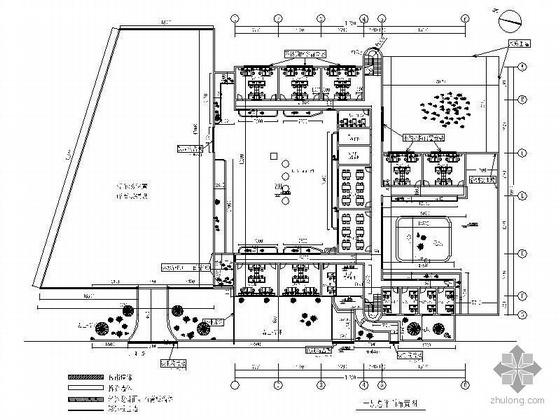 [上海]世博浦东自建馆临时办公室工程图(装饰+水电)