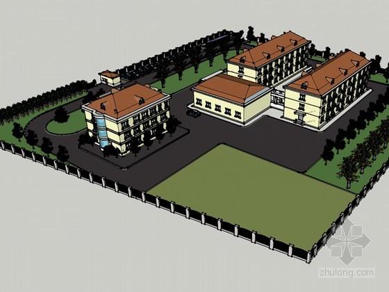 住宅区建筑
