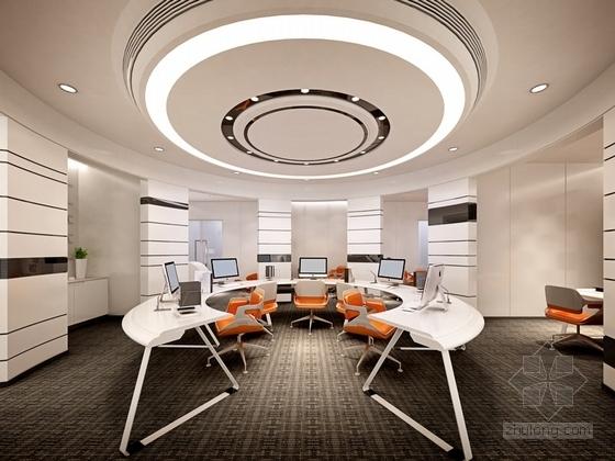 [佛山]现代高端甲级写字楼大小样板间室内装修图(含效果) 会议室效果