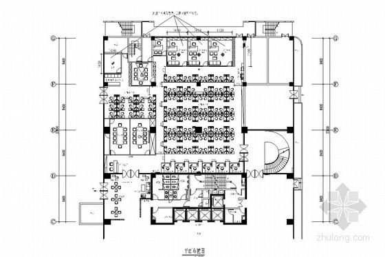 [深圳]大型通讯企业宝安营业厅室内施工图