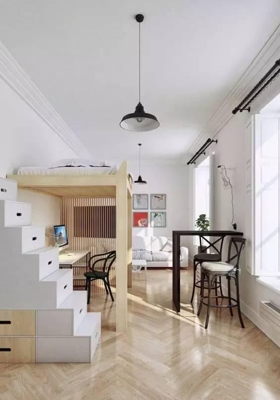 学建筑的你怎么能甘心自己的卧室和别人一样!!!_6