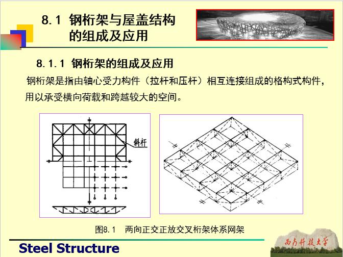 钢桁架与屋盖结构-西南科技大学_4