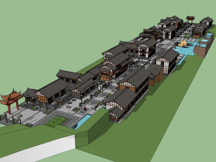 传统商业街+中式风格建筑商业街设计.skp-20150731_175917_284