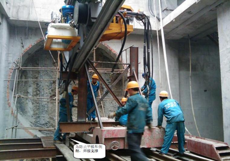 [湖北]轨道交通区间盾构机下井吊装安全专项施工方案