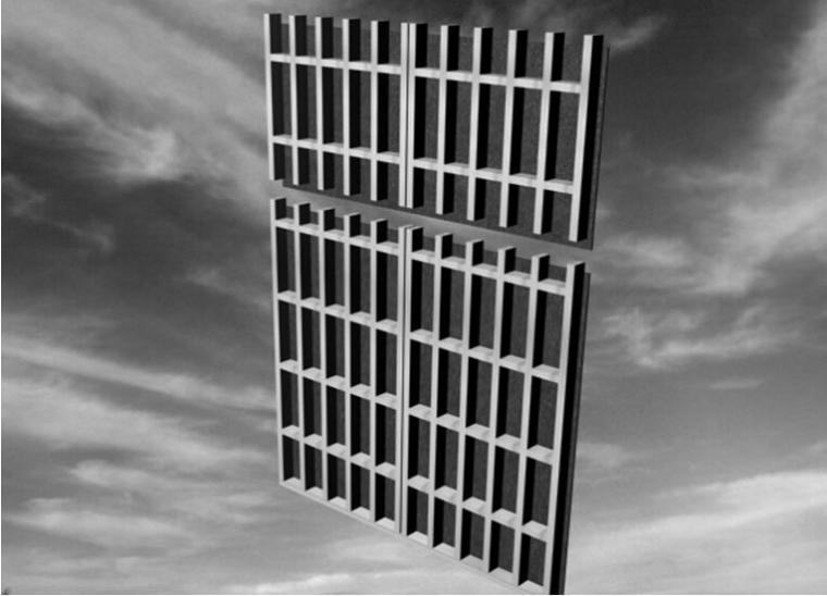 [河北]剪力墙结构高层商场及办公用房施工住宅设计(300余页)_3