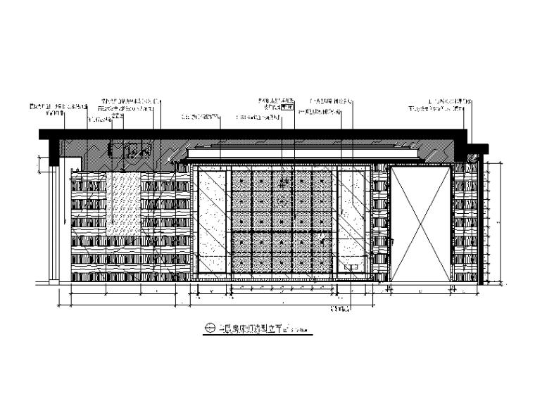 【北京】两套时尚经典别墅设计CAD施工图_3