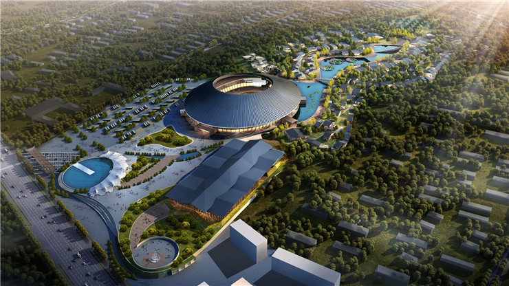 泰安旅游集散中心概念规划设计