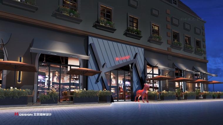 咖啡餐厅设计,红树林度假世界H·Lounge酒吧_2