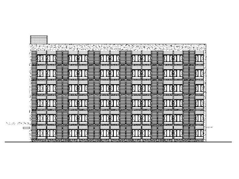 [福建]现代风格职工宿舍建筑施工图