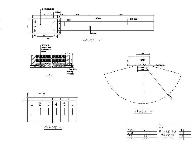 [广东]小学200米田径场及运动设施方案设计图纸-小学200米田径场及运动设施方案