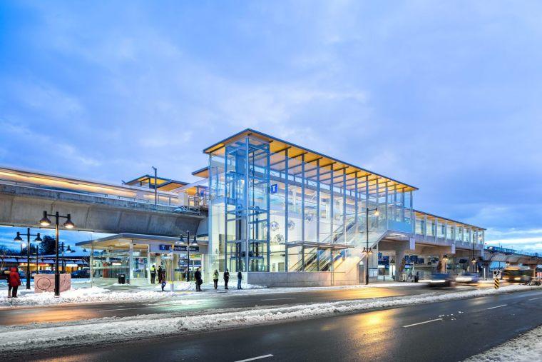 加拿大长青线车站-7
