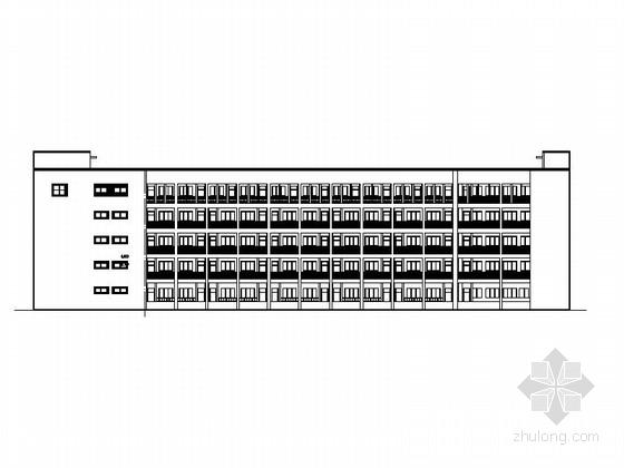 [合集]3套高层中学建筑施工图(含教学楼、食堂、体育馆)