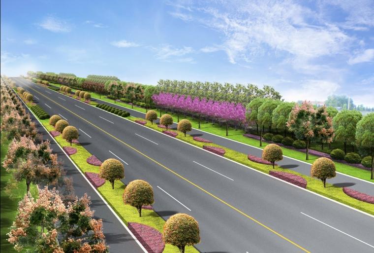 道路绿化效果-道路绿化效果第1张图片