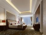 简约舒适卧室3D模型下载