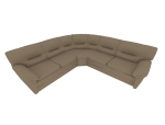 现代弧形沙发3D模型下载