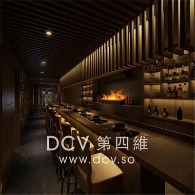 西安日式料理餐厅设计-惠舍.炉端烧_3