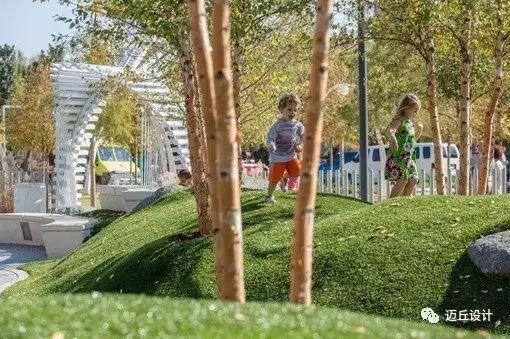 全球14款微地形儿童活动场设计