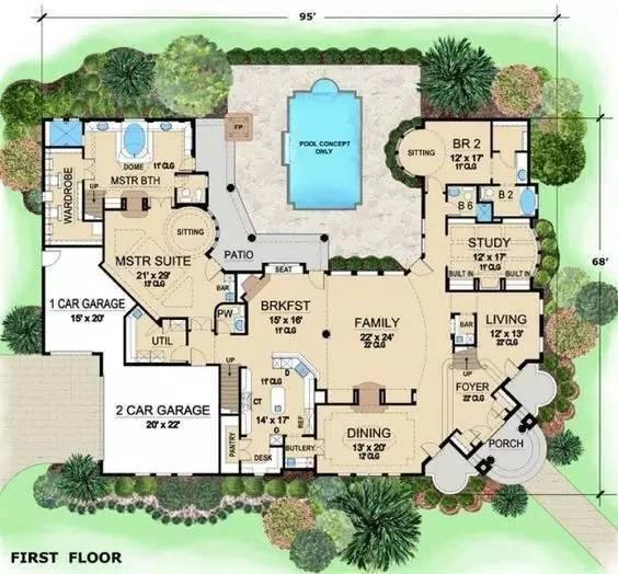 建筑住宅户型设计_1