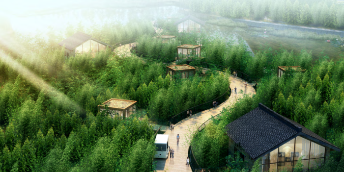[广西]桂林风情古镇老街乡村景观设计方案(赠项目lumion动画)-效果图24