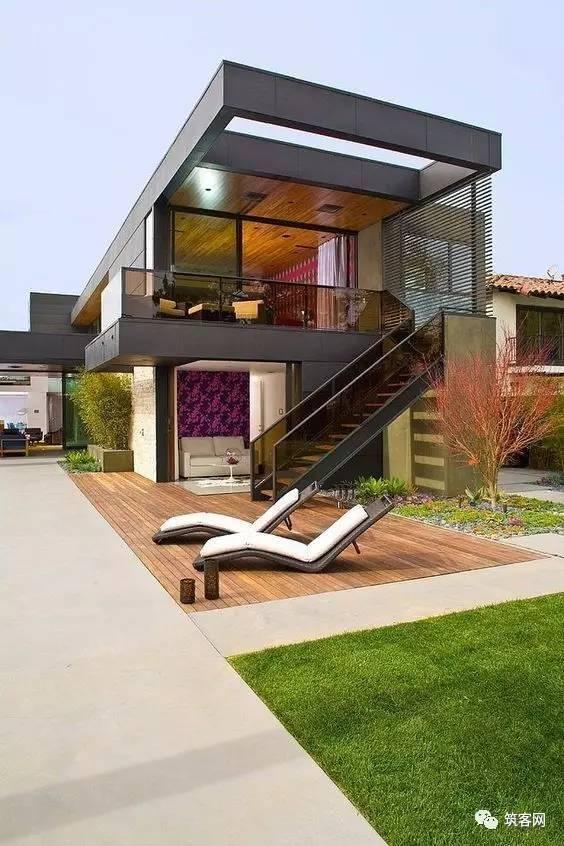 40款·简洁的现代别墅设计_36