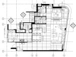 [香港]现代轻奢风格复式楼层装修全套施工图(附效果图)