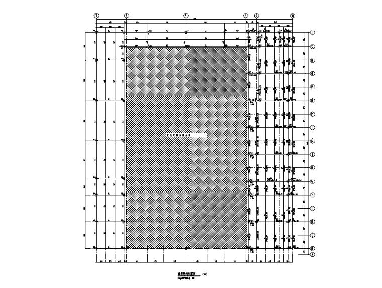 钢排架废旧厂房改造图2019建筑结构水暖电