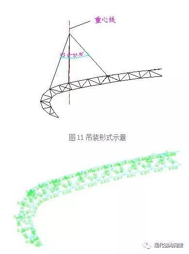 葫芦岛体育馆弓形桁架施工技术_10
