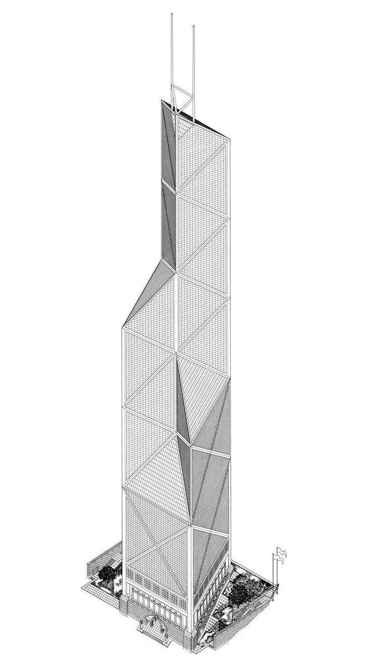 致敬贝聿铭:世界上最会用「三角形」的建筑大师_52